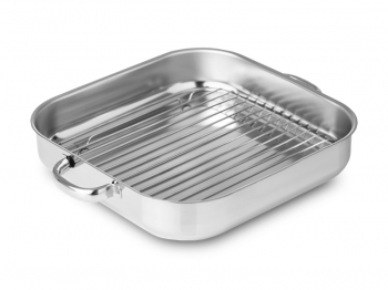 Tray with handles & griddle