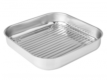 Tray no handles with griddle