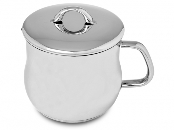 Milk pot with handle