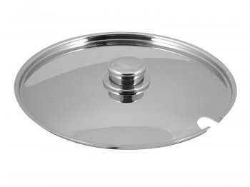 Europa lid with slit and knob