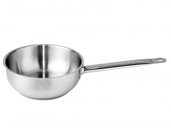 Conical saucepan no lid